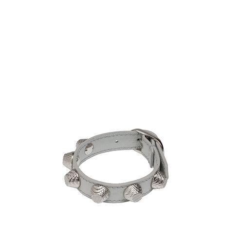 Balenciaga Armband Giant Stud Silber