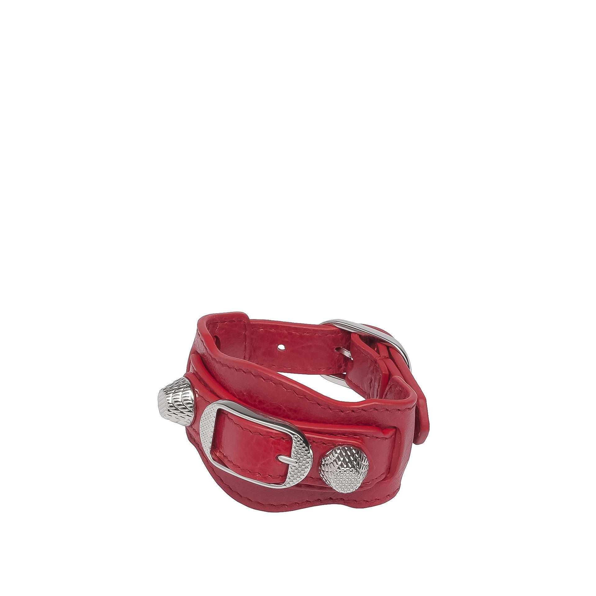 Balenciaga Giant Silver Bracelet
