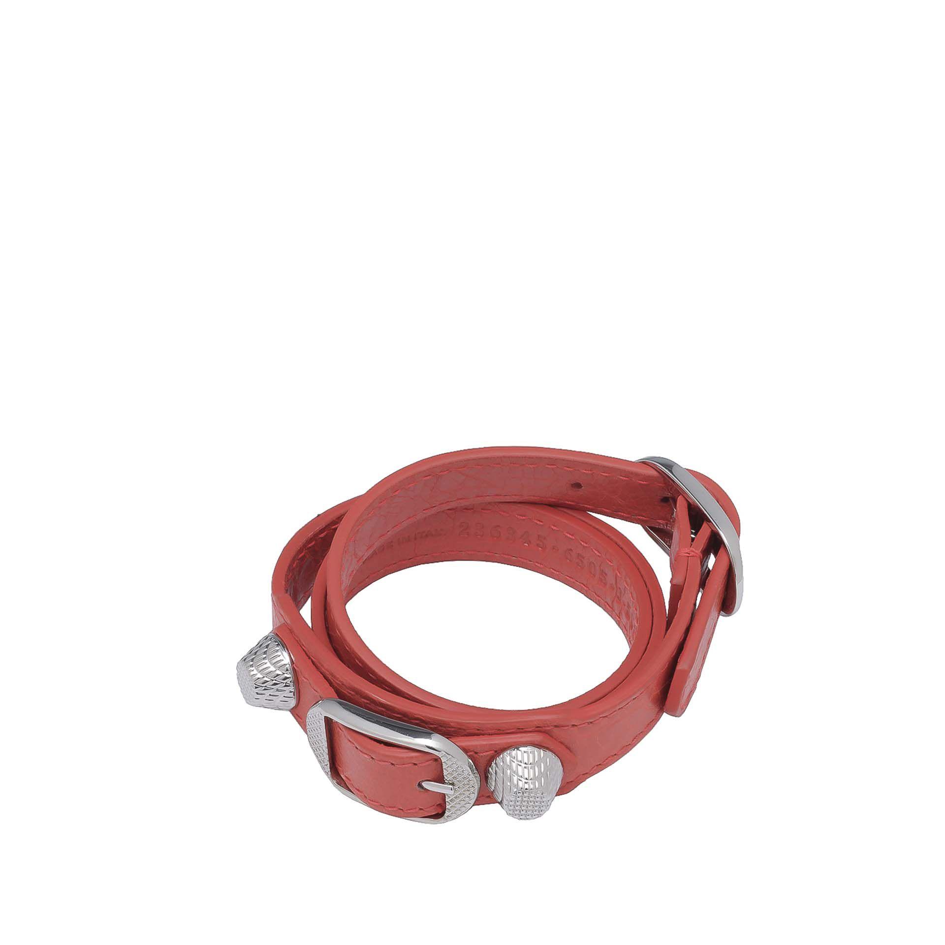 Balenciaga Giant Silver Bracelet Triple Tour