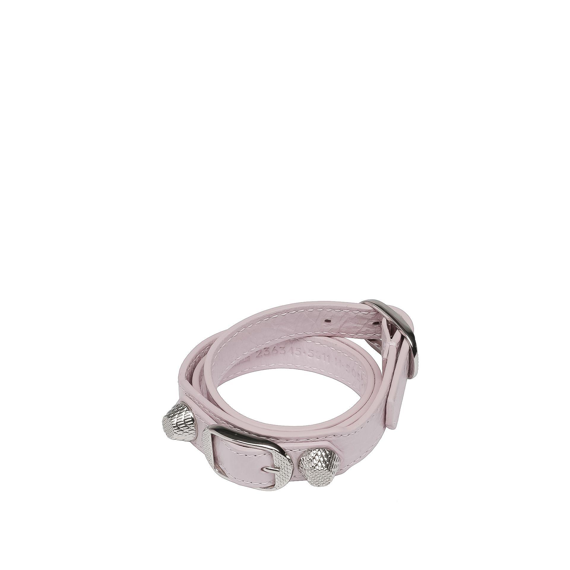 Balenciaga Giant Bracelet Triple Tour Argent