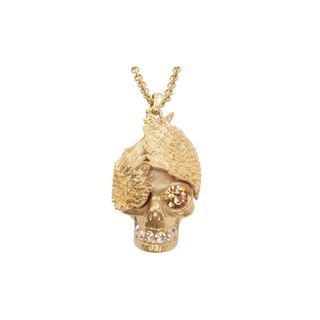 ALEXANDER MCQUEEN, Necklace, Wings Skull Pendant