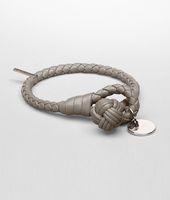 Fume Intrecciato Nappa Bracelet