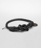 Nero Intrecciato Nappa Bracelet