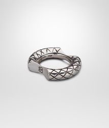 BOTTEGA VENETA - Rings, Intrecciato Silver Ring