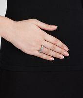 Intrecciato Silver Ring