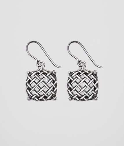 BOTTEGA VENETA - Oxydized Rete Earring