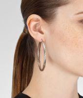 Silver Intrecciato Earring