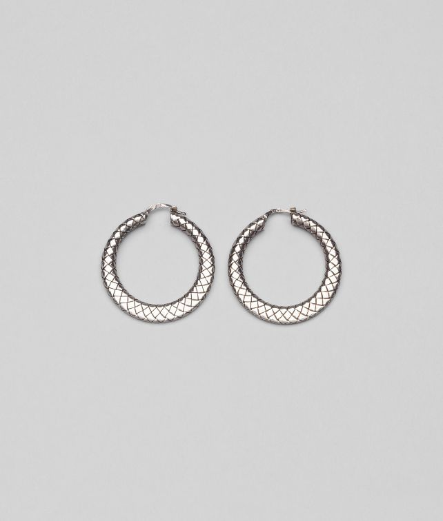 EARRINGS IN INTRECCIATO SILVER