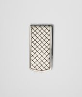 MONEY CLIP INTRECCIATO STERLING SILVER
