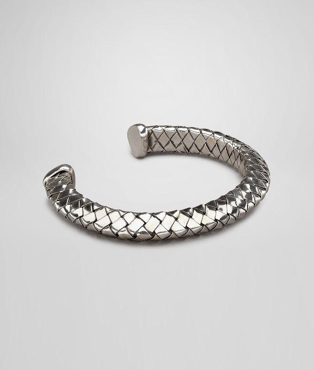 Antique Intrecciato Silver Bracelet