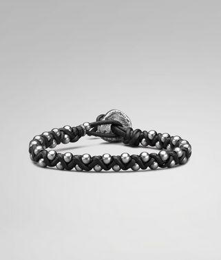 Oxydized Silver Nappa Bracelet