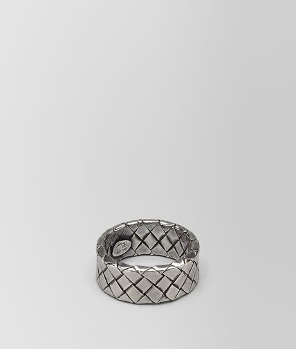 Intrecciato Antique Silver Ring