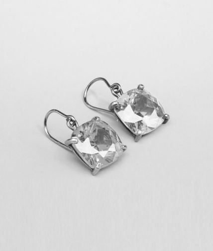 BOTTEGA VENETA - Oxydized Zircon Earring