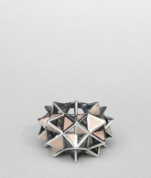BOTTEGA VENETA - Rings, Poussin Enameled Antique Silver Ring