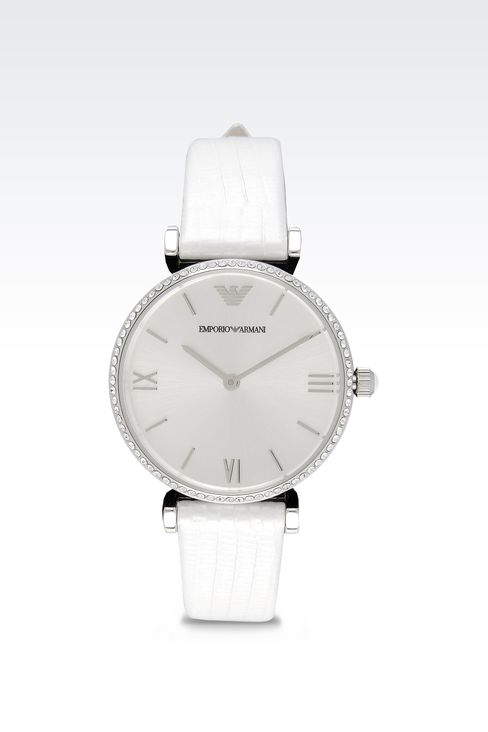 Retro Collection Analogical Watch: Watches Women by Armani - 1
