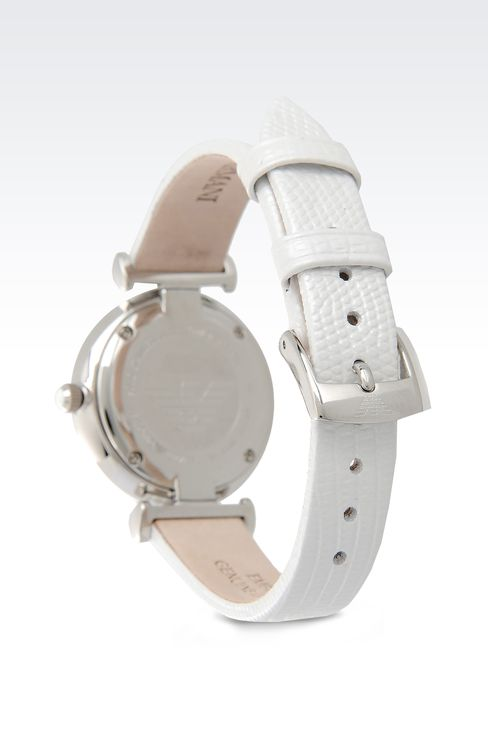 Retro Collection Analogical Watch: Watches Women by Armani - 2