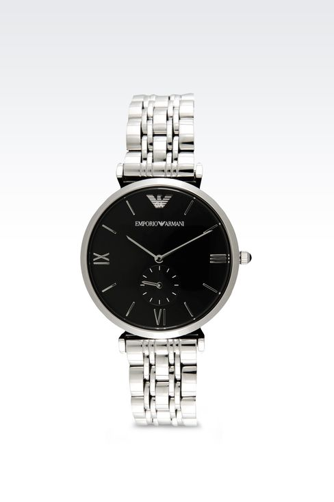 Retro Collection Analogical Watch: Watches Men by Armani - 1