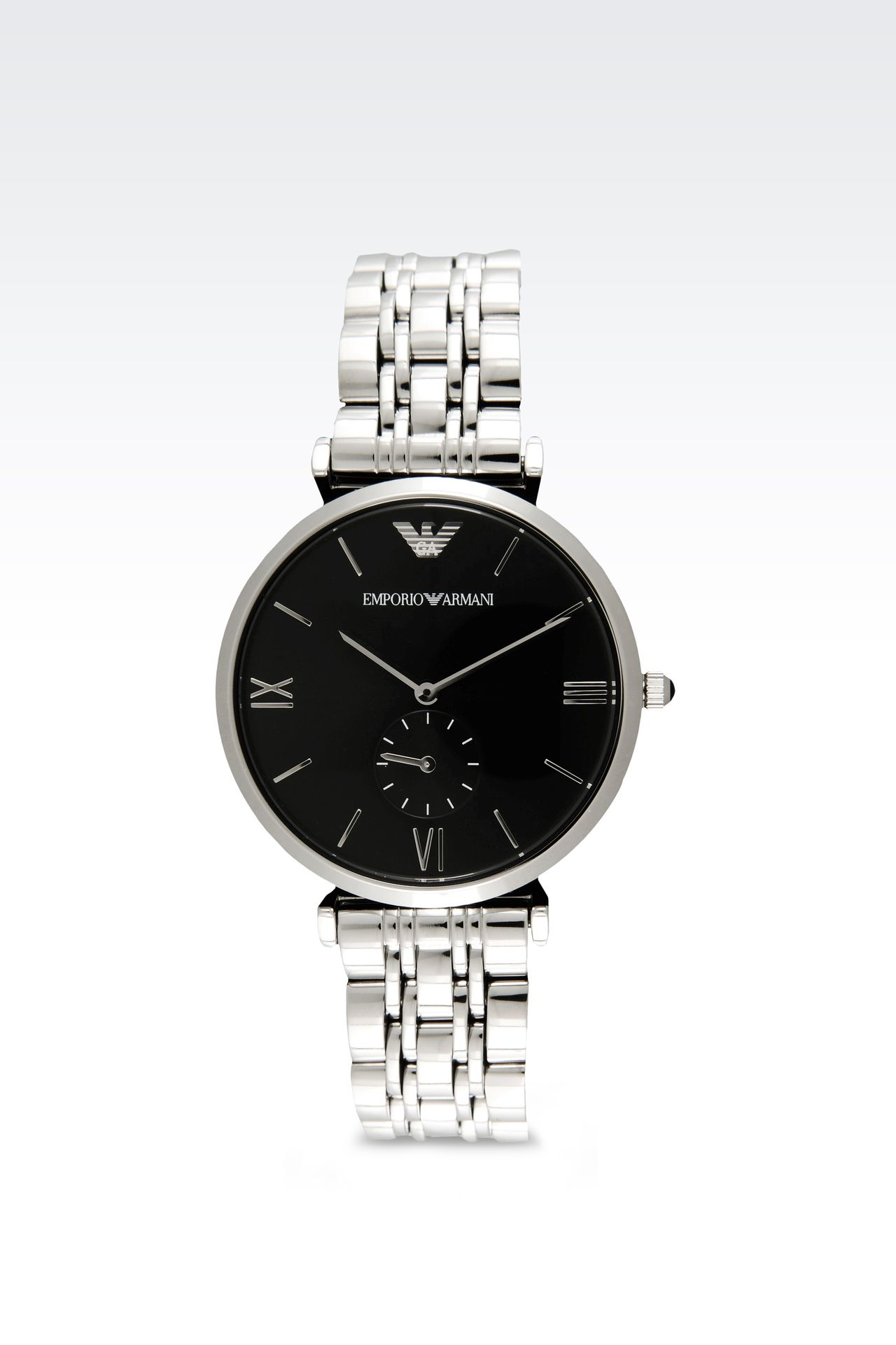 Retro Collection Analogical Watch: Watches Men by Armani - 0