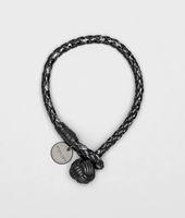 Nero Intrecciato Ayers Nappa Bracelet