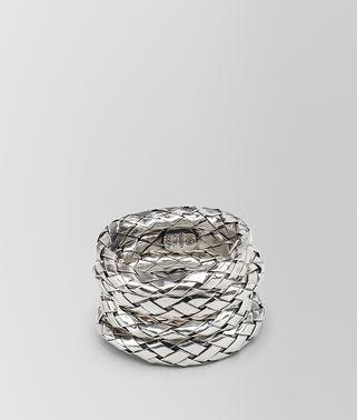 编织银质戒指