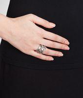 Intrecciato Silver Rings