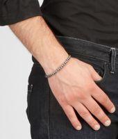 Nero Oxydized Silver Nappa Bracelet
