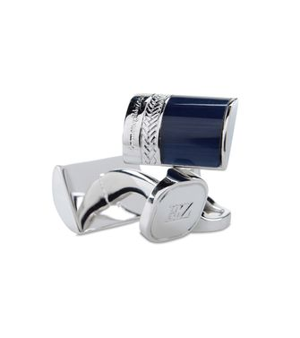 ERMENEGILDO ZEGNA: Cufflinks Blue - 50146314VE