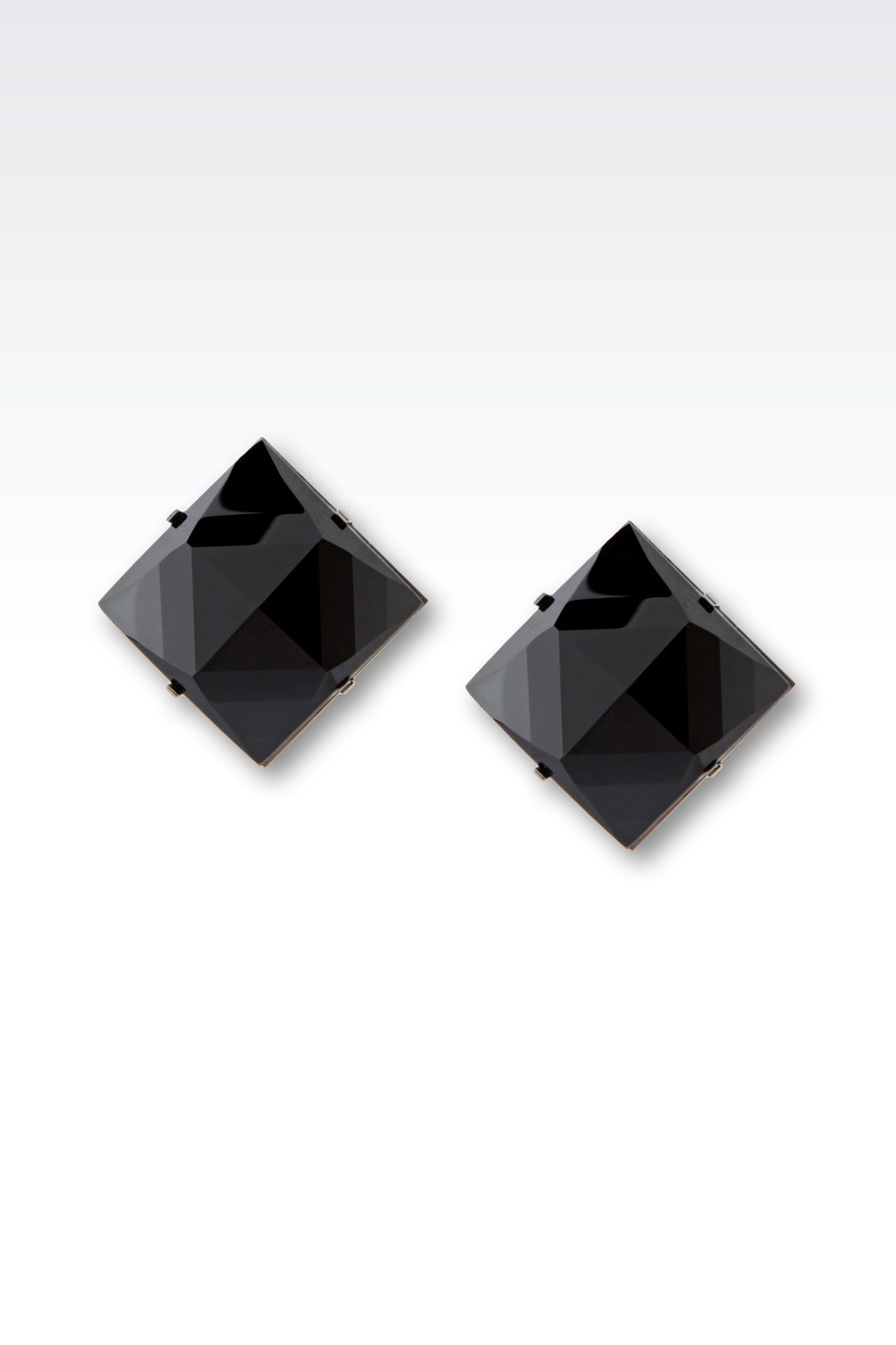 CLIP EARRINGS IN GLASS: Earrings Women by Armani - 0