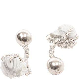 ALEXANDER MCQUEEN, Formal Accessory, Skull Claw Cufflinks