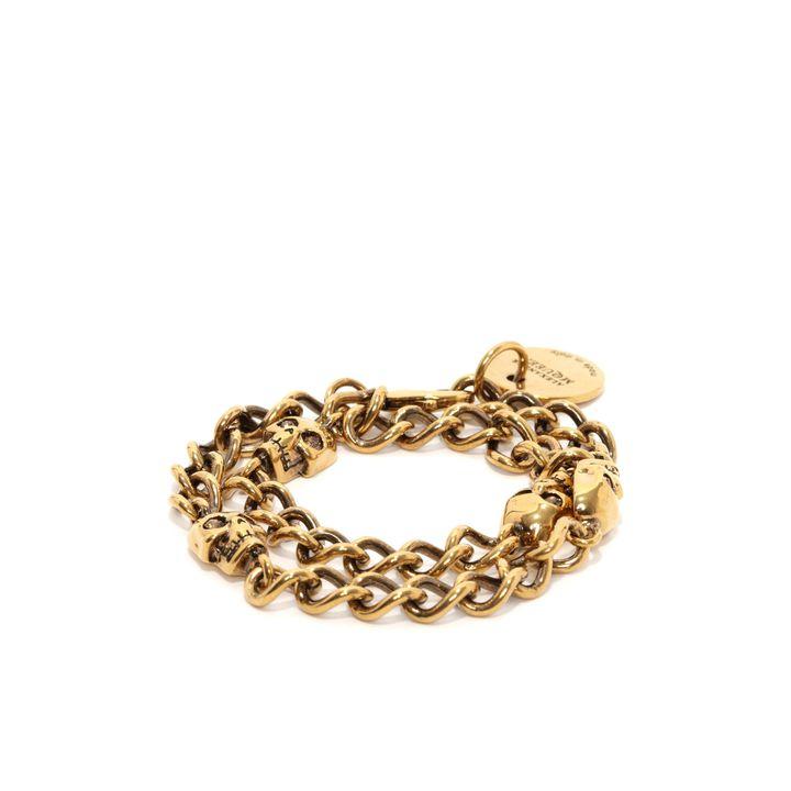 Alexander McQueen, Skull Chain Bracelet