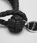 BOTTEGA VENETA BRACELET IN NERO INTRECCIATO NAPPA Keyring or Bracelets E ap