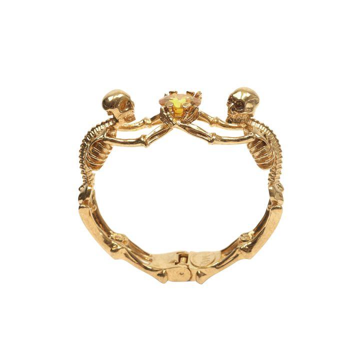 Alexander McQueen, Twin Skeleton Jewel Bangle