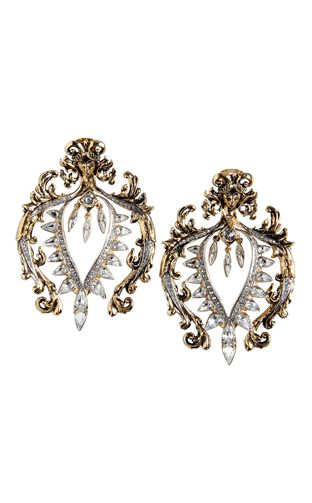 Earrings - ROBERTO CAVALLI - Metal, Crystal