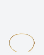 Classic ROUND bangle in vermeil