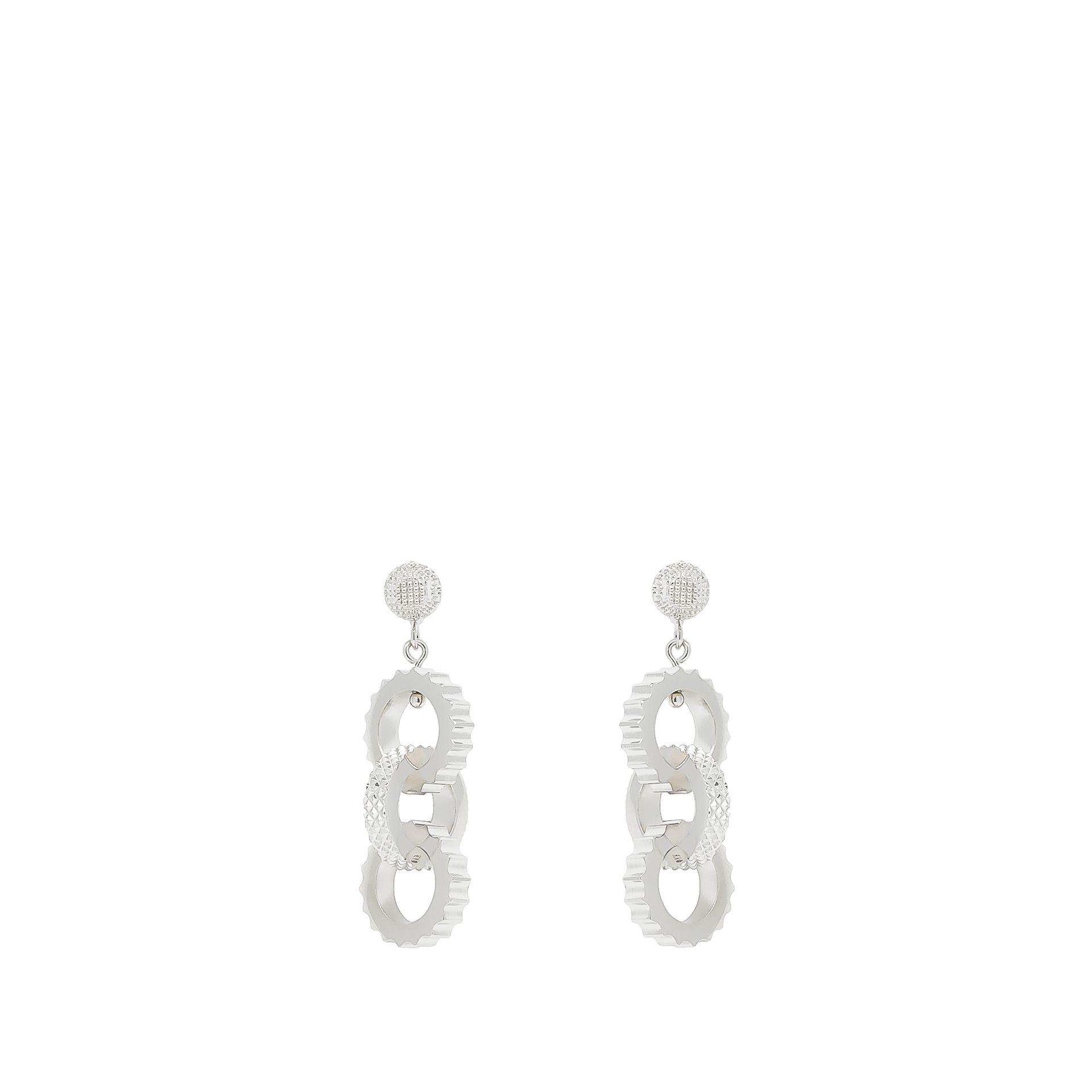 Balenciaga Boucles D'Oreilles Triples Clip Classiques