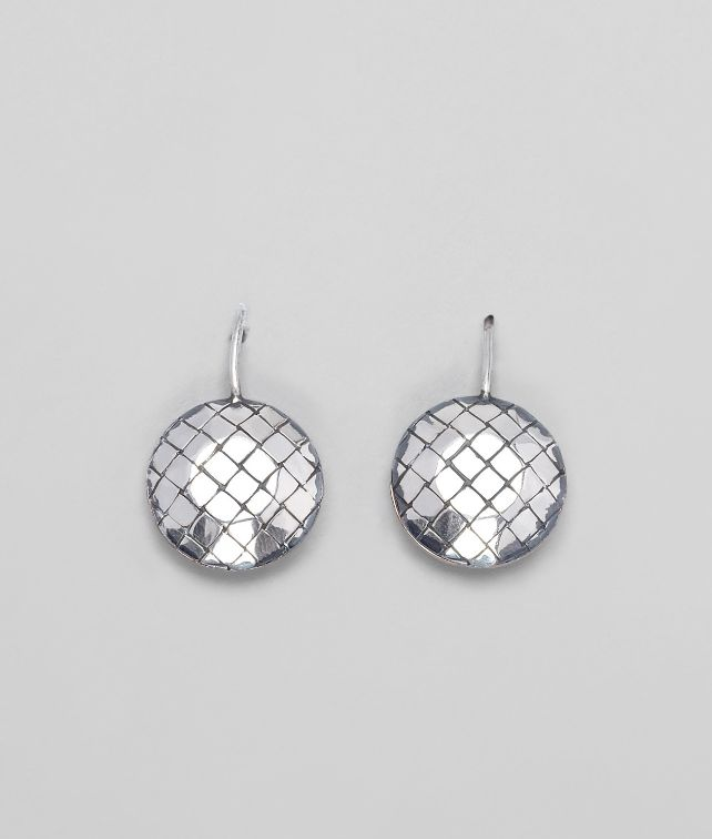 Oro Bruciato Intreccio Svanito Silver Earrings