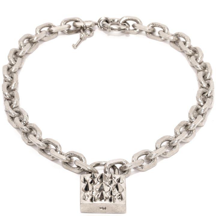 Alexander McQueen, Padlock Necklace