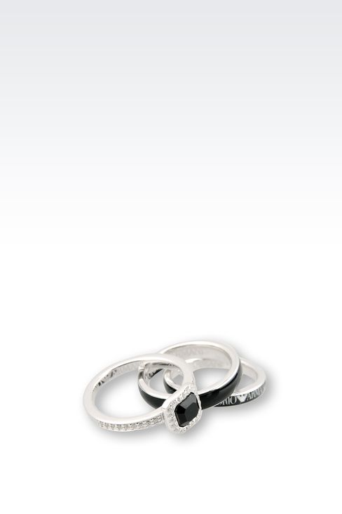 Jewelry: Rings Women by Armani - 3
