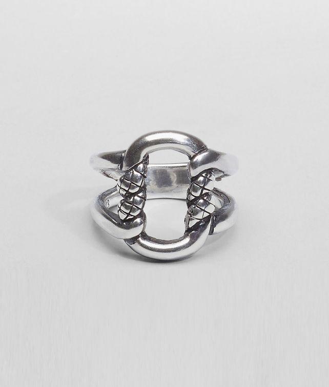 Intreccio Svanito Silver Ring