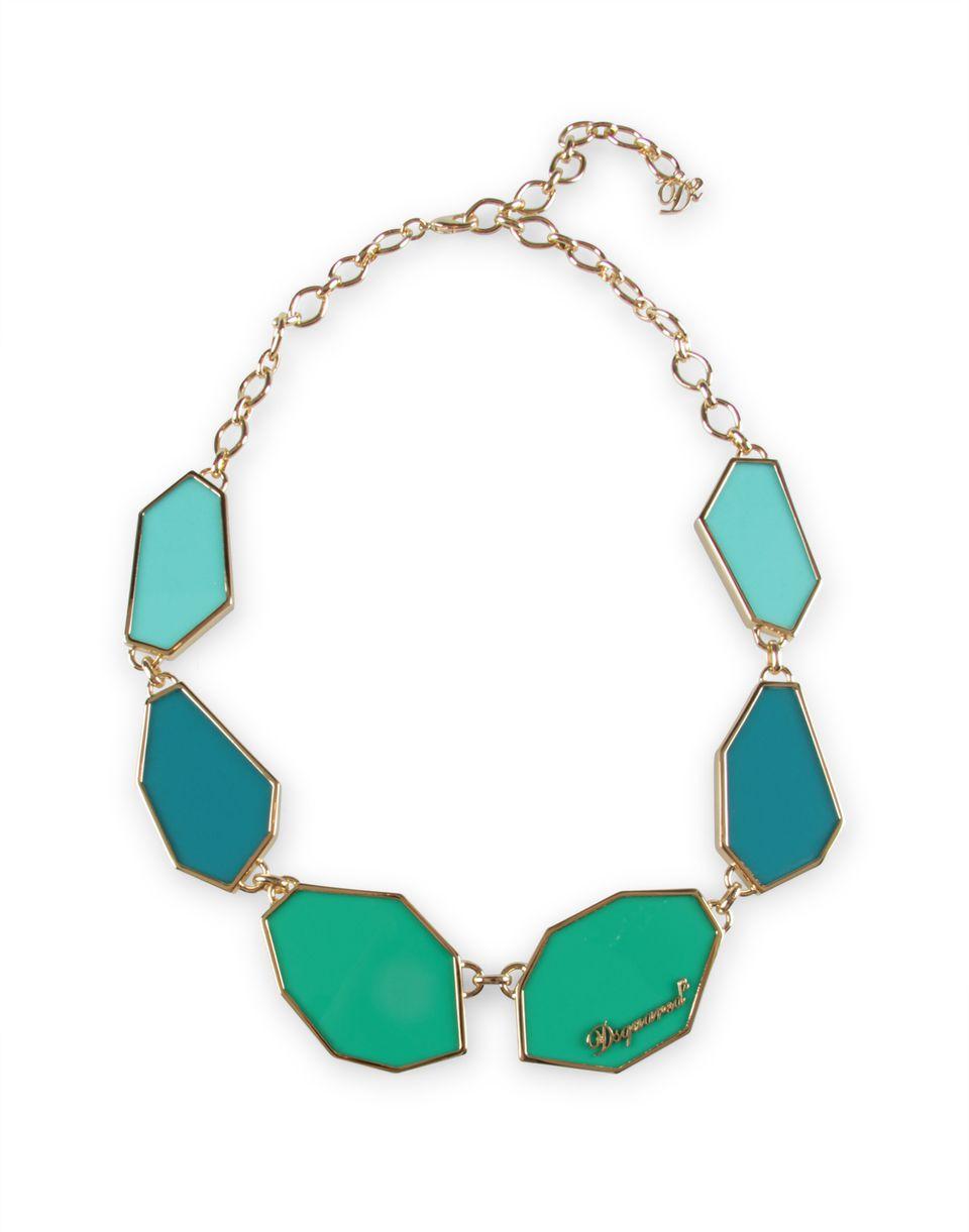 plexy plates necklace jewels Woman Dsquared2
