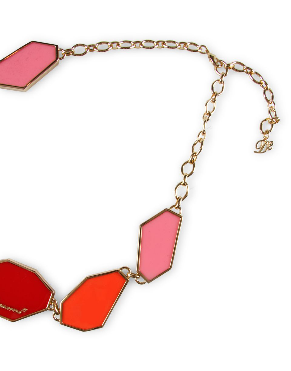 plexy plates necklace jewels Woman Dsquared2