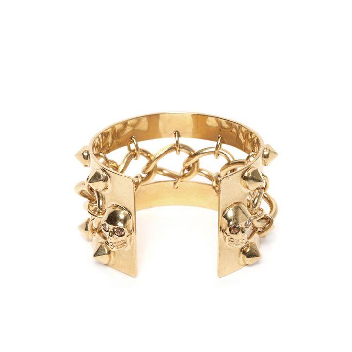 Alexander McQueen, Chain Studs Cuff