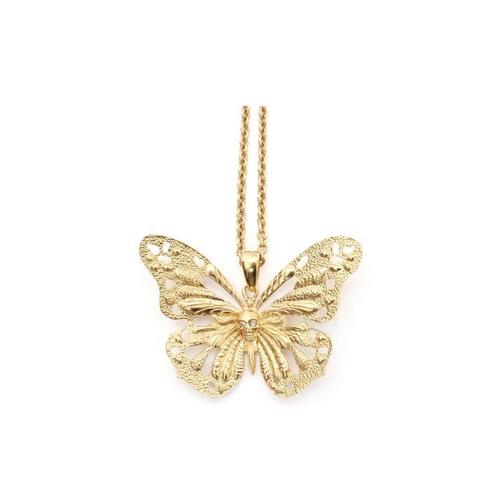 Alexander McQueen, Ciondolo Skull Butterfly