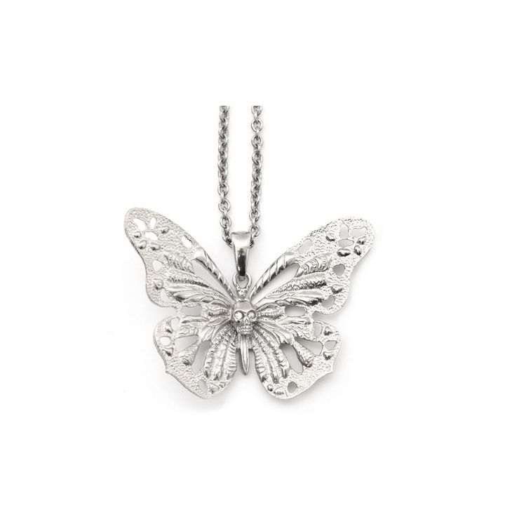 Alexander McQueen, Butterfly Skull Pendant