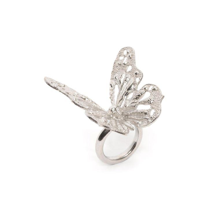 Alexander McQueen, Butterfly Skull Ring