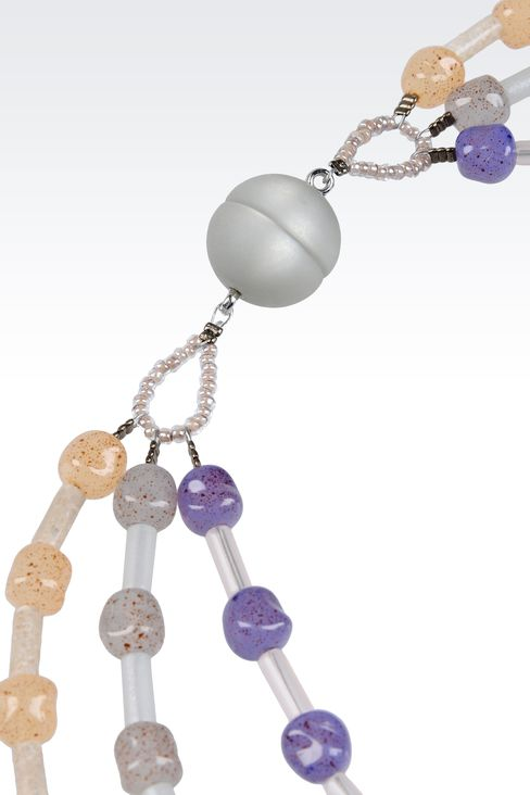 RESIN NECKLACE: Necklaces Women by Armani - 3