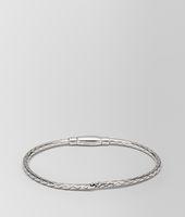 Antique Silver Intrecciato Bracelet