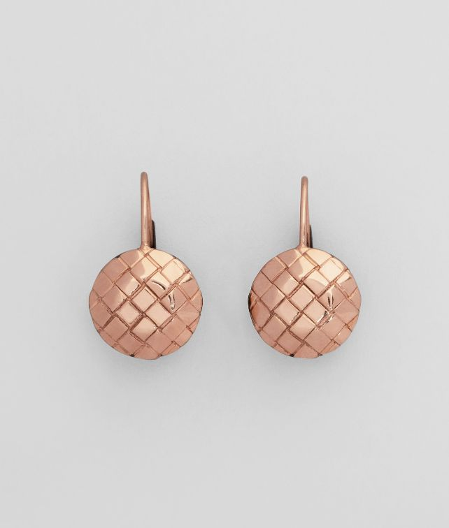ORO ROSA INTRECCIATO BURNISHED SILVER Earring