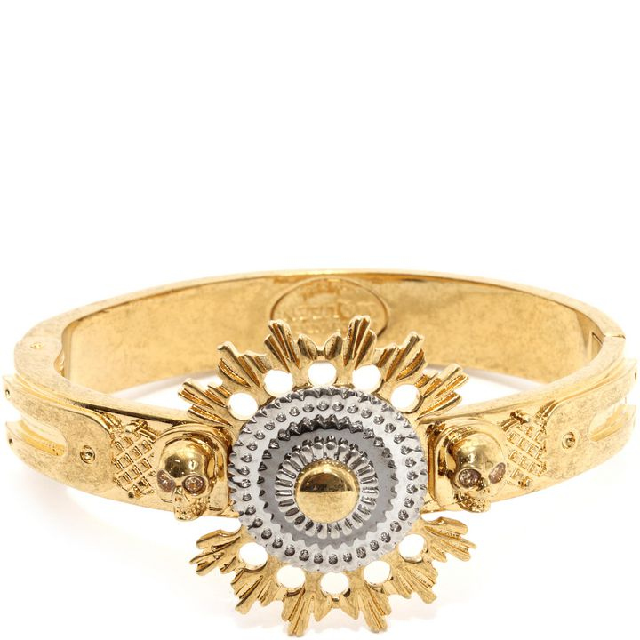 Alexander McQueen, Skull Flower Bangle