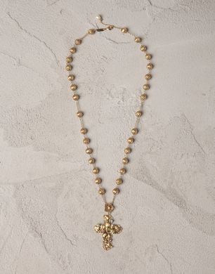 ROSARY NECKLACE - Necklaces - Dolce&Gabbana - Summer 2016